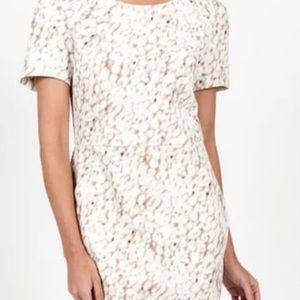 Hilton Hollis Exotic Haze Print Dress
